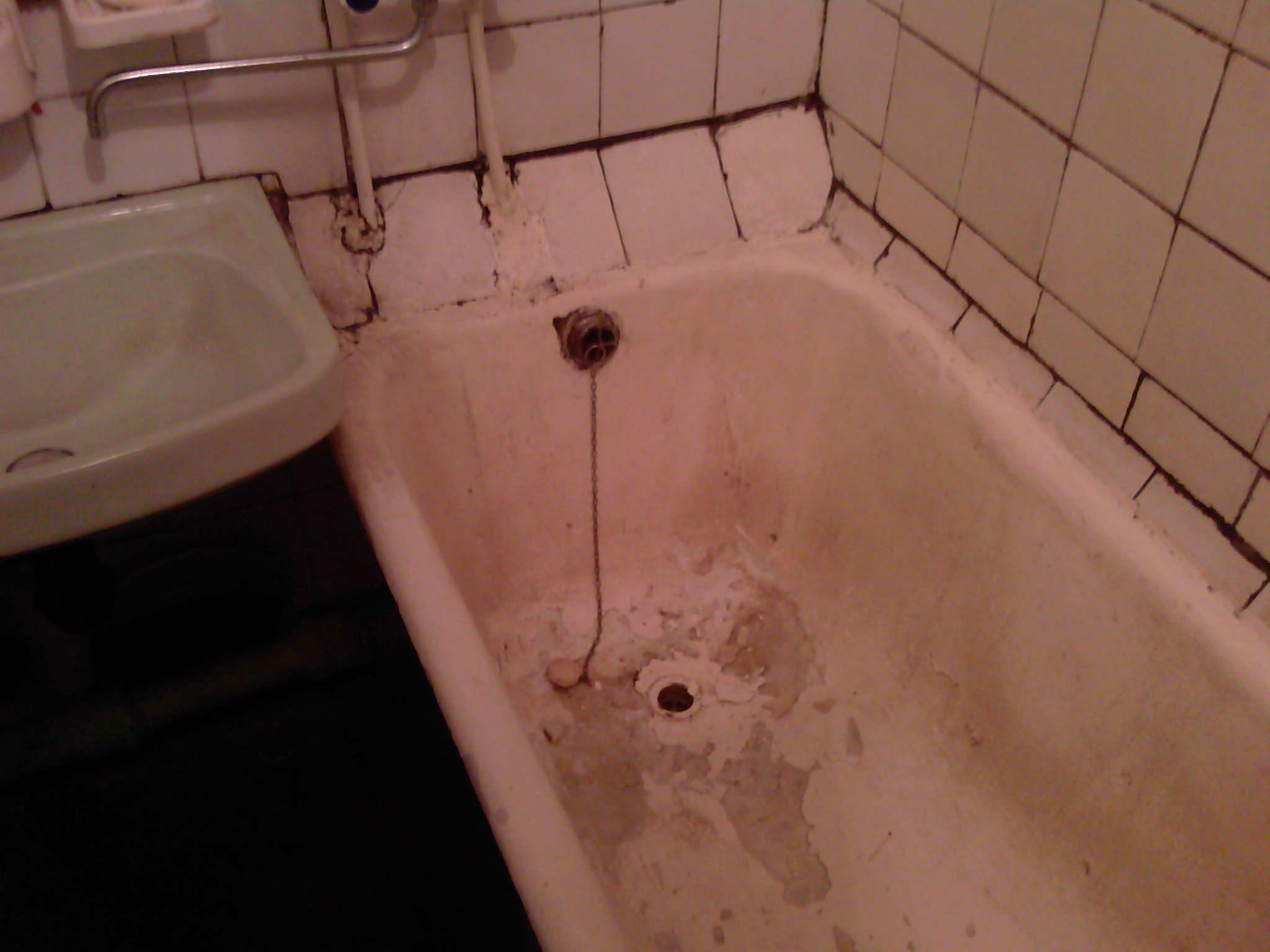 Ремонт старых ванн своими руками